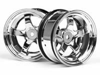 ����� ����� 1/10 - WORK MEISTER S1 26mm CHROME (6mm OFFSET) 2��