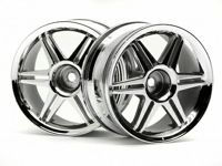 ����� 1/10 - (12 ���� CORSA CHROME 26MM / ����� 3MM) 2��