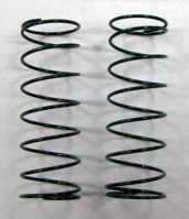 Front shock springs, Medium (1.4mm/P12)(Green)