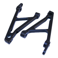 Alum. Rear Shock Support (Black): HPI BAJA 5B/SS
