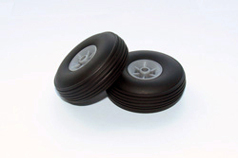 TREADED RUBBER WHEEL (57MM)