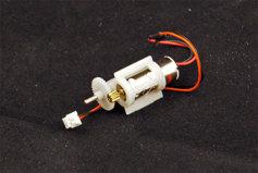 Коллекторный электродвигатель с редуктором привода воздушного винта.