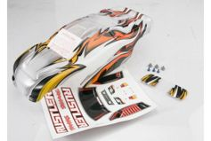 Body, Rustler, ProGraphix (replacement for the painted body. Graphics are printed, requires paint &