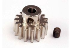 Gear, 15-T pinion (32-p) (mach. steel)/ set screw