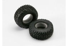 "Tires, off-road racing, SCT dual profile 4.3x1.7- 2.2/3.0"" (2)/ foam inserts (2)"