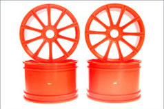 Ten-Spoke Wheel (Orange/ST-R/4pcs)