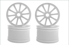 Ten-Spoke Wheel(White/ST-R/4pcs)