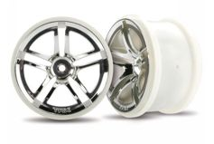 "Wheels, Jato Twin-Spoke 2.8"" (chrome) (electric rear) (2)"