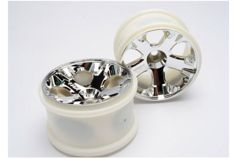 "Wheels, All-Star 2.8"" (chrome) (nitro front) (2)"