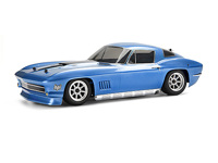����� 1/10 - 1967 CHEVROLET CORVETTE (�������� / BLUE/ 200mm)