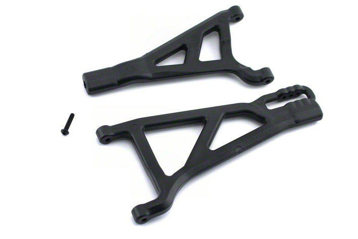 Front A-Arms, Left, Black: Revo-