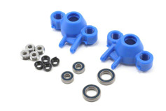 Axle Carriers/Oversized Bearings, Blue:Revo/Slayer-