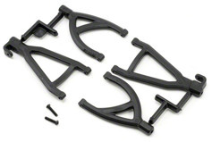 Rear Up/Low A-arms, Black:1/16 ERV-
