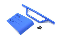 Front Bumper & Skid Plate, Blue: SLH-