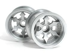 Диски колесные (Т-10) SPIKE TRUCK WHEEL (MATTE CHROME/2PCS)