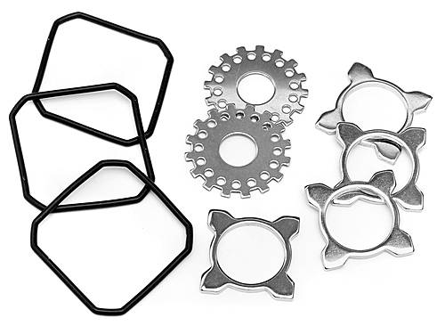 DIFF WASHER SET (for #85427 ALLOY DIFF CASE SET)