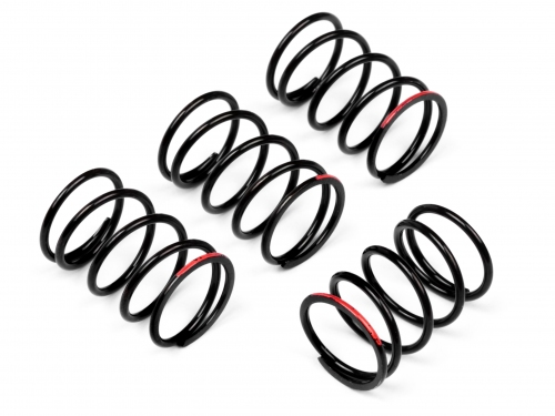 HIGH QUALITY MATCHED SPRING VERSION 1 RED (SUPER HARD/4pcs)