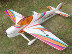 Rainbow F3A 3D Aerobatic, RTF, 4ch, 2.4G, Red