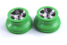 WHEELS, SCT, CHROME, GREEN BEA-диск колеса, 2шт.