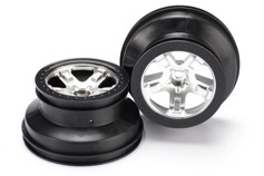 WHEELS, SCT SATIN CHROME, BLAC-���� ������, 2��.