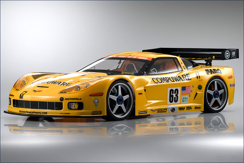 Модель туринг KYOSHO Inferno GT2 Race Spec Corvette 2.4GHz