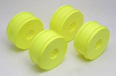 RC8 83mm Wheels, yellow (4��)