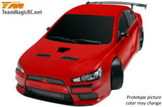 ������ ������ TM E4D Drift (������� / ��������������� ������� / ���������� 2.4GHz / ����� Mitsubishi Evolution X / ������� ��������)