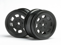 ����� 1/10 - VINTAGE STOCK CAR 26mm Black (0mm OFFSET) 2��