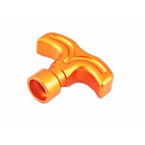 Aluminum Pull Start Handle (Orange)