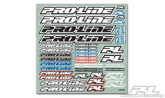 Наклейки - Pro-Line Team Decal B&W