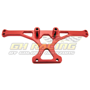 Alum. Rear Body Mount (Red): Associated SC10