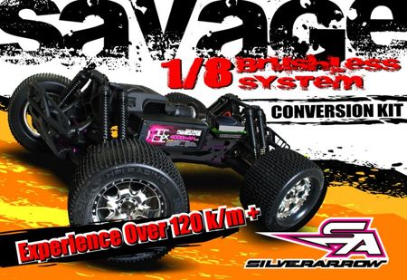 Savage Silver Arrow 1/8 Brushless System Conversion Kit