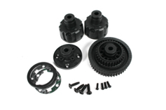 TM G4 Diff Case & Pulley Set