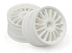 "Диски ралли 1/8 - WR8 TARMAC WHITE (2.2"" / 57X35MM) 2шт"