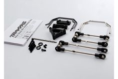 Sway bar kit, Revo (front and rear) (includes thick and thin sway bars and adjustable linkage)