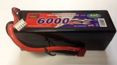 Аккумулятор Li-po High Power 14.8V 4S 6000mAh 60C / DEANS