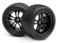 MINIZILLA MICRO PIN TIRE & BLACK WHEEL PR