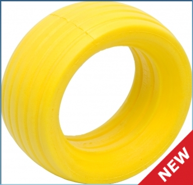 ������� - VTEC 1/8 Off-Road Truggy LP molded tire insert - soft - yellow (2 ��.)