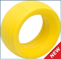 Вставки - VTEC 1/8 Off-Road Truggy LP molded tire insert - soft - yellow (2 шт.)