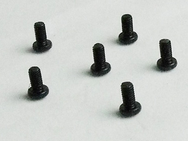 10239 Round Head Self Tapping Hex Screw M3*6