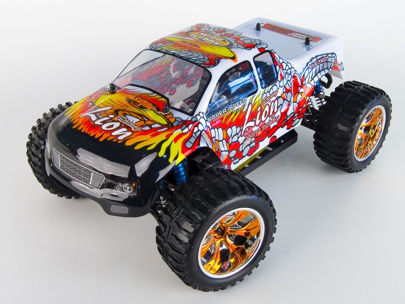 1:10 Off-road Monster Truck 4WD, Brushless, RTR, 2.4G