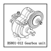 BS801-012 Gearbox unit