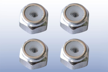 2mm Nylon Nut (Alum.)