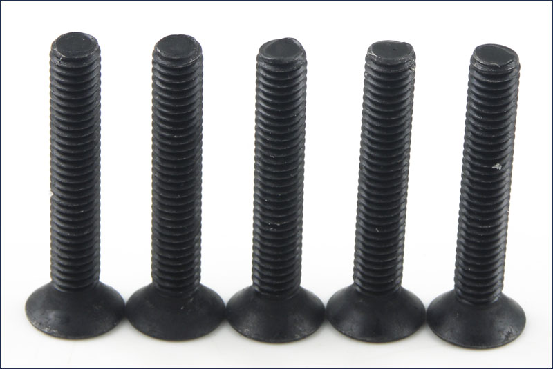 Flat Head Screw(Hex/M4x25/5pcs)