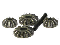 02066 Diff. Pinions+Bevel Gears+Pin