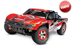 Модель шорт-корс трака Traxxas Nitro Slash (ДВС / аппаратура 2.4GHz / готовый комплект)