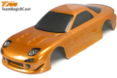 ����� ������/����� 1/10 - 190mm RX7 Gold (�������)