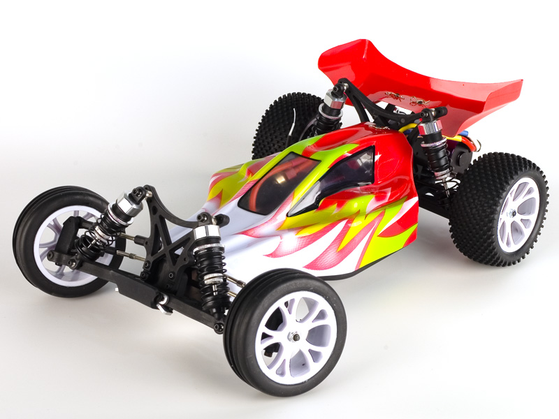 1:10 Off-Road Buggy Bullet EBL 2WD, RTR, 2.4G