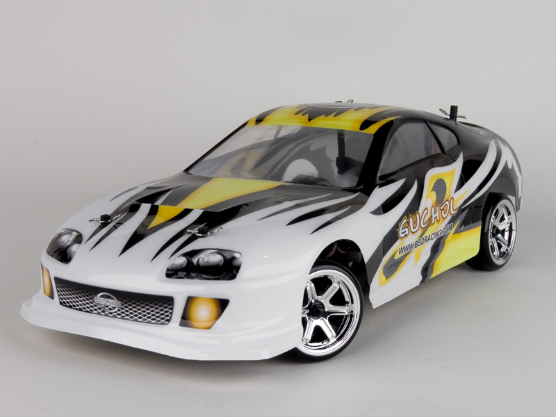 1:10 On-Road Racing car (Carbon) 4WD, Brushless, RTR, 2.4G
