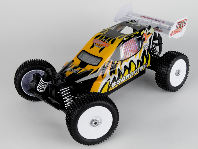 1:10 Off-Road Buggy 4WD, OS.18+Autostart, RTR, 2.4G (BS815T)